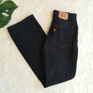Levi's orange tab rare courdory pants